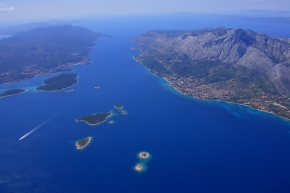 Peljesac channel